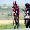 "0718TAYLOR4.jpg Taylor Phinney (left) is paced by Allen Lim (right) during a training ride in Boulder, Colorado July 18, 2012.  DAILY CAMERA MARK LEFFINGWELL<br /> <br /> See video of Taylor Phinney training at  <a href=""http://www.dailycamera.com"">http://www.dailycamera.com</a>"