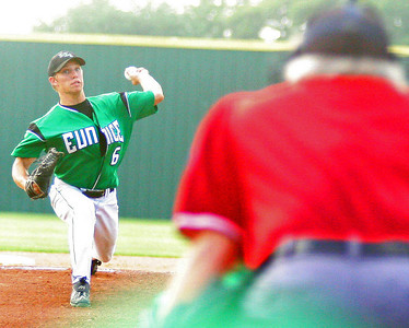 LOUISIANA HIGH SCHOOL BASEBALL 2009: EUNICE HIGH IN CLASS 4A QUARTER AND SEMI FINAL PLAYOFF ACTION AGAIN TUERLINGS CATHOLIC AND SAM HOUSTON.