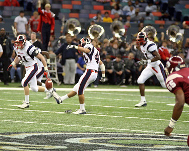 LOUISIANA HIGH SCHOOL FOOTBALL 2008:  West Monroe vs Destrahan for the Class 5A State Championship @ the Louisiana Superdome.  Destrahan wins...second in a row!