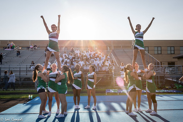 LRHS Pride  vs WF 090817 Cheer Band