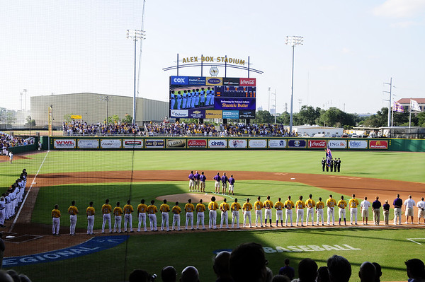 LSU Baseball Super Regional 2009 vs Rice G1