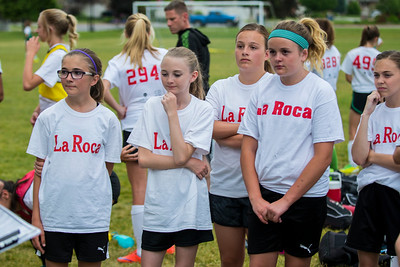 Soccer tryouts for La Roca. La Roca is a club soccer program based in Northern Utah that is now an academy. Many of the top high school soccer players in Northern Utah play for La Roca, and starting this year, they won't be able to play both for La Roca and for their high school. on Thursday at Ellison Park in Layton on Thursday June 2, 2017.