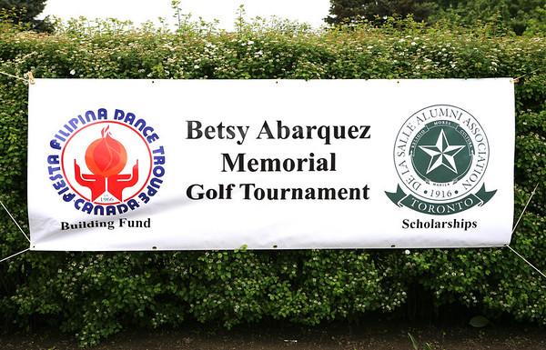 La Salle Toronto - Betsy Abarquez Memorial Golf Tournament - 2011
