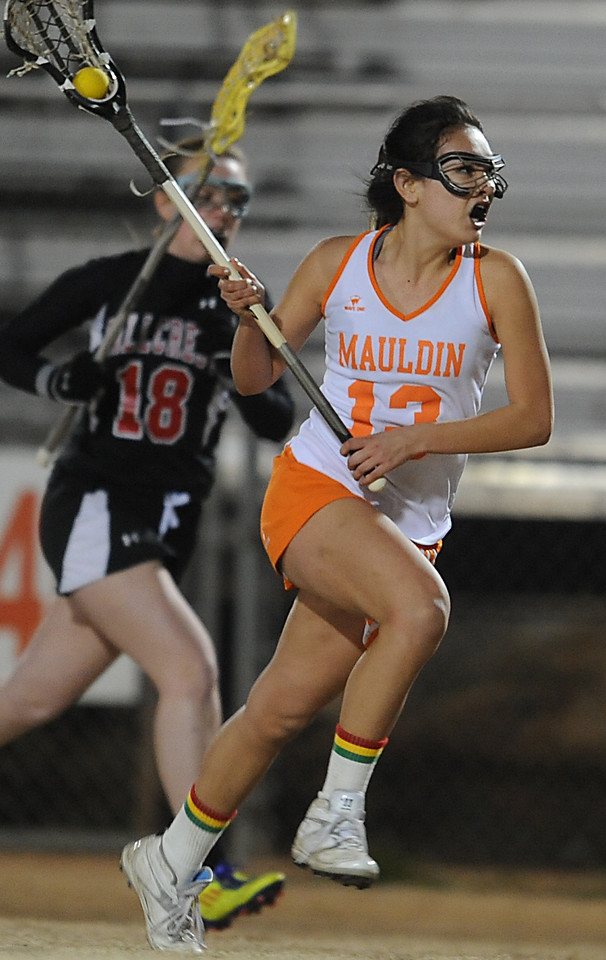 The Mauldin Mavericks played host to the Hillcrest Rams in Lacrosse matches.<br /> GWINN DAVIS PHOTOS<br /> gwinndavisphotos.com (website)<br /> (864) 915-0411 (cell)<br /> gwinndavis@gmail.com  (e-mail) <br /> Gwinn Davis (FaceBook)