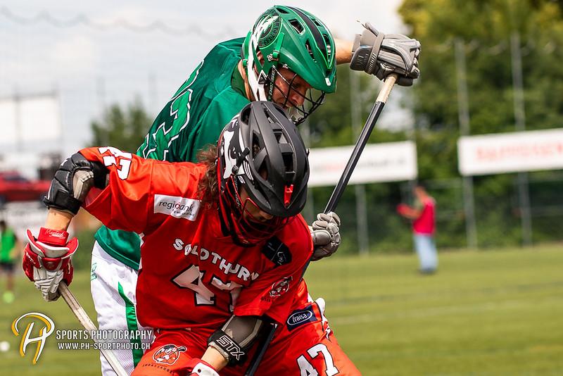 Mens SLL Final Four - Spiel um Bronze: Wettingen Wild - Solothurn Ambassadors - 11:5