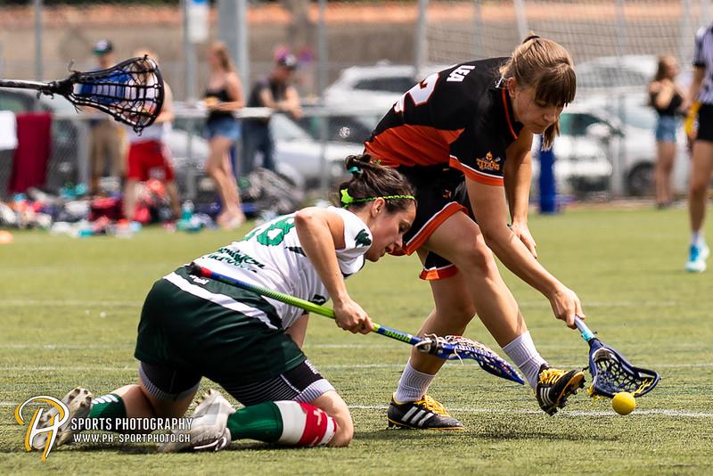 Womens SLL Final Four - Championship Game: Wettingen Wild - Bern Titans - 15:4