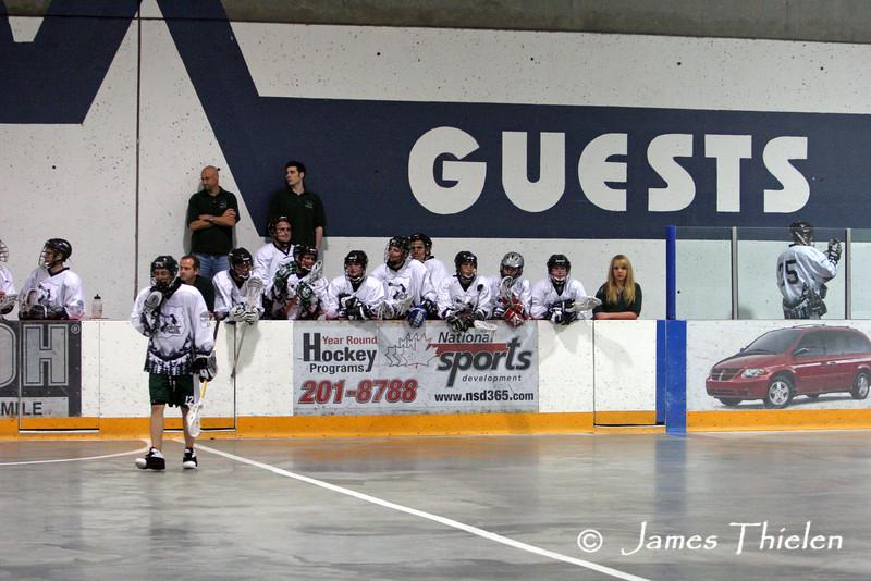 Calgary Knights vs Okotoks Ice April 25, 2007