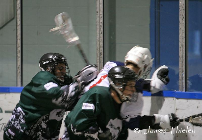 Okotoks Ice vs Medicine Hat Sundevils, Playoff Game 2, July 08, 2007