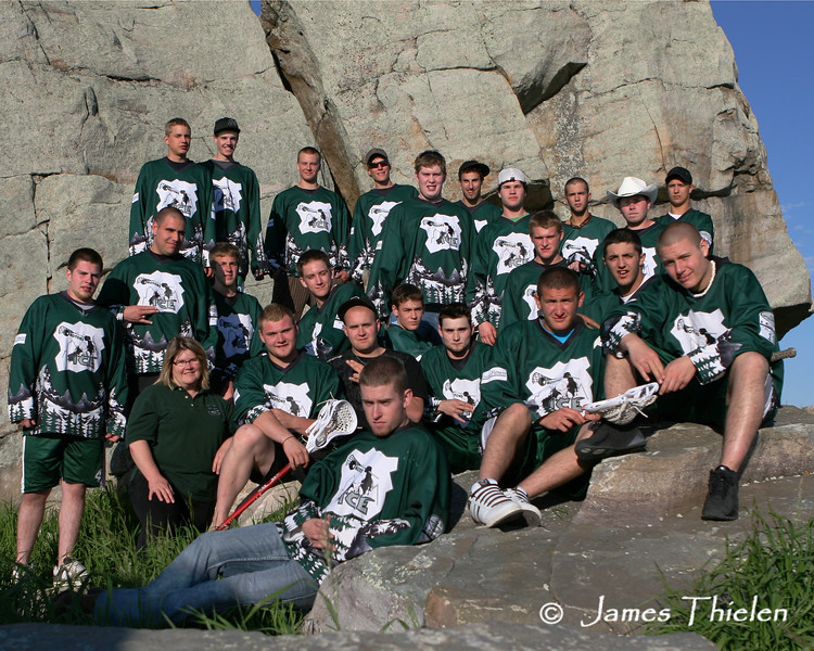 Okotoks Ice Team Photo