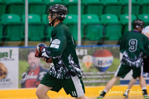 Okotoks Ice vs Calgary Sabrecats June 27, 2010