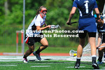 04 May 2012:  Ann Fucigna tallied four goals and three assists to set the Davidson single-season points record and lead the Wildcats to a 19-9 victory over Longwood in the quarterfinals of the National Lacrosse Conference Tournament Friday afternoon at Smith Field at Richardson Stadium  in Davidson, North Carolina.