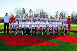 02 February 2012:  Davidson women's lacrosse pose for their team picture at Smith Field at Richardson Stadium  in Davidson, North Carolina.