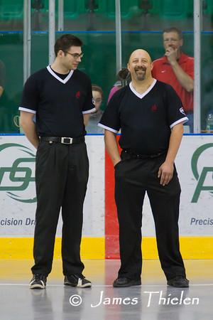 Okotoks Ice vs Red Deer Renegades May 08, 2011
