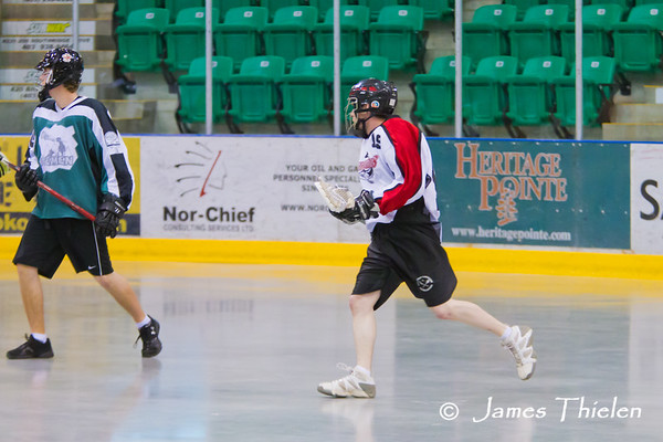 Okotoks Icemen vs Lethbridge Barracudas June 04, 2011
