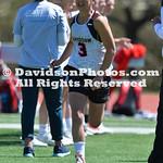 NCAA WOMENS LACROSSE:  APR 03 St Josephs at Davidson