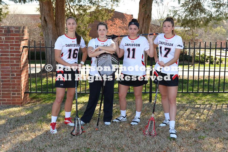 NCAA WOMENS LACROSSE:  MAR 09 Davidson