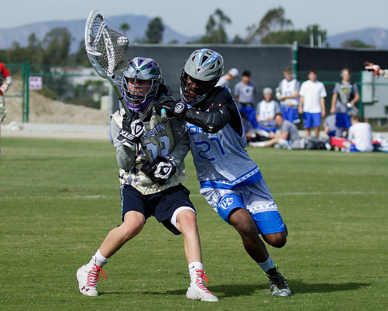 Lacrosse Force HS vs SD Mission