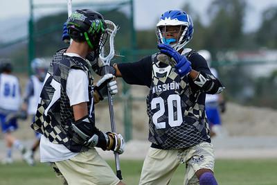 Lacrosse Force HS vs SD Mission