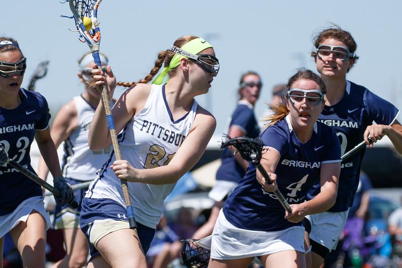 US Lacrosse Women's Collegiate Lacrosse Associates (WCLA) Division I Quarterfinal - Pittsburgh vs BYU