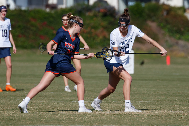 2020 Santa Barbara Shootout - Utah State vs Virginia (2/14/2020)