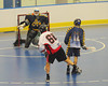 "Onondaga Red Hawks Brett Bucktooth (66) fires a shot on the Allegany Arrows net in Can-Am Senior ""B"" Box Lacrosse league action at the Onondaga Nation Arena in Nedrow, New York on Sunday, June 26, 2011.  Redhawks won 30-4."