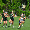 Jackie Planchet drives into traffic for a goal in the first half of Saturday's championship. Nashoba Publishing/Ed Niser