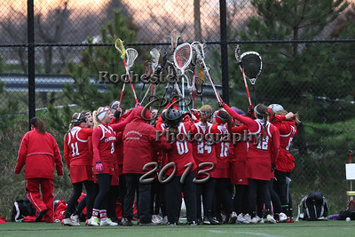 April 19, 2013;  Irondequoit, NY; USA; Canandaigua girls lacrosse vs. Pittsford at McAvoy Park.  Photo: Christopher Cecere