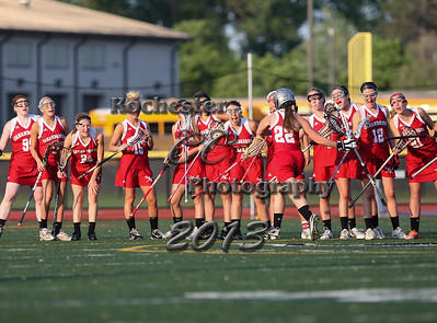 May 29, 2013;  Rochester, NY; USA; Section 5 Class B girl's lacrosse: Canandaigua vs. Brighton at East Irondequoit H.S.  Photo: Photo: Christopher Cecere/Resolute Images