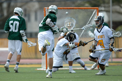 Delbarton vs St Anthony's Boys Lacrosse. Copyright Chris Bergmann Photography