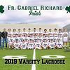 2019 FGR Varsity Mens LacrosseTeam 8x10