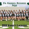 2019 FGR Varsity Womens LacrosseTeam 8x10
