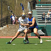 FSU's Bailey Miller fights to move the ball against WS Hayley Sutherland