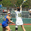 fsu's Kayla Panek scoops the ball in the air