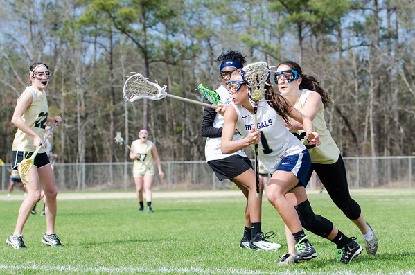 Girls Lacrosse scrimmage