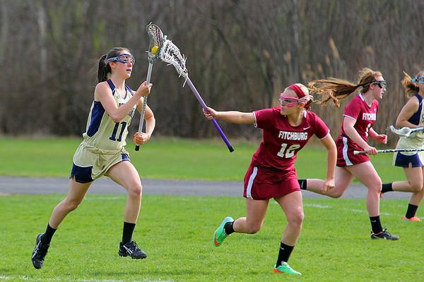 Lacrosse: Fitchburg vs St. Bernard's Girls