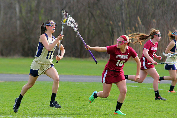 Lacrosse: Fitchburg vs St. Bernard's Girls