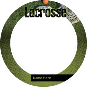 Lacrosse-Button