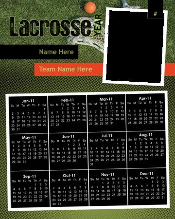 Lacrosse-Calendar