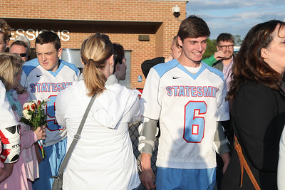 Marshall Boys Lacrosse Senior Night (08 May 2017)