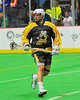 Syracuse Stingers Dave Wood (3) on the field against the NYC Lax All-Stars at the Onondaga County War Memorial in Syracuse, New York on Thursday, February 21, 2013.
