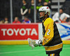 Syracuse Stingers Hugh Burnam (2) playing against the NYC Lax All-Stars at the Onondaga County War Memorial in Syracuse, New York on Thursday, February 21, 2013.