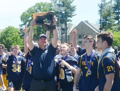 The Victor Blue Devils are the NYSPHSAA Class B Championshs.