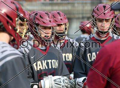 Oakton @ Yorktown Boys JV Lacrosse (21 Apr 2016)