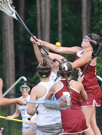 PVHS Girls Lacrosse vs Oak Hall 4/25/15