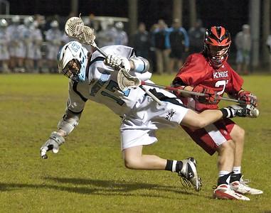 Ponte Vedra Boys' Lacrosse vs Creekside 2-16-10
