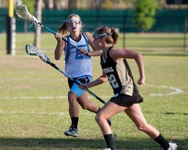 Ponte Vedra Girls' Lacrosse vs Buchholz District Title Game 4-9-10