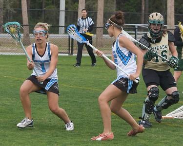 Ponte Vedra Girls Lacrosse vs Nease 3-21-09
