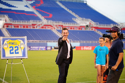 One Last Time... The @florida_launch honored Lacrosse Legend #22 Casey Powell by retiring his number at last night's game. I've had the privilege of capturing @caseypowell22 greatness over the years. Win or lose, Casey would point to the camera and smile. I haven't felt this sad since M.J. retired from basketball.  Casey will continue to teach lacrosse camps... https://caseypowell.com/