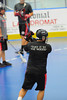 """Rochester Greywolves visited the Onondaga Red Hawks in Can-Am Senior """"B"""" Box Lacrosse playoff action at the Onondaga Nation Arena in Nedrow, New York on Friday, July 15, 2011.  Greywolves won 12-8."""