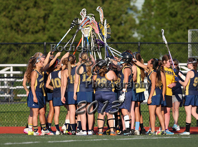 May 20, 2013;  Brighton, NY; USA; Spencerport girl's lacrosse vs. Brighton at Brighton H.S.  Photo: Christopher Cecere